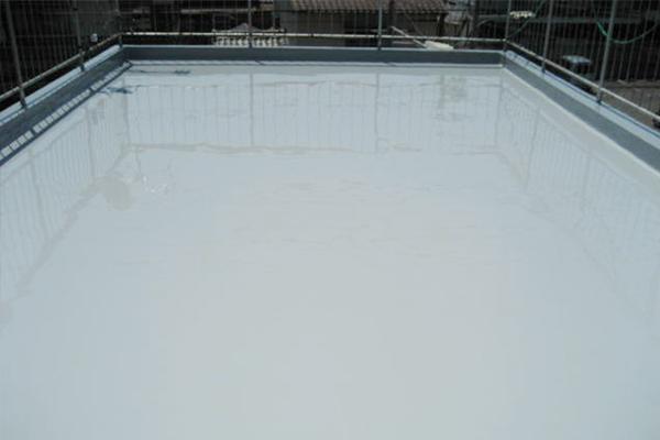 ウレタン塗膜防水 After