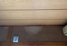 天井や壁ののシミ