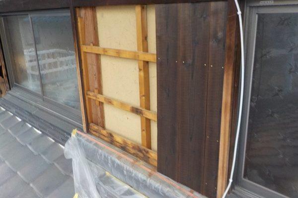 千葉県千葉市 焼杉板(焼板)張り替え工事 当社の事業内容 (2)
