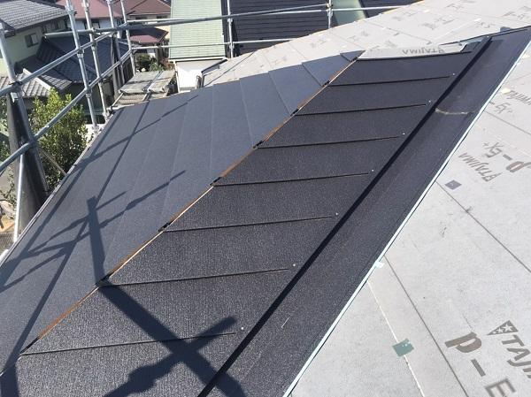 千葉県市原市 屋根カバー工法 ガルバリウム鋼板 (1)