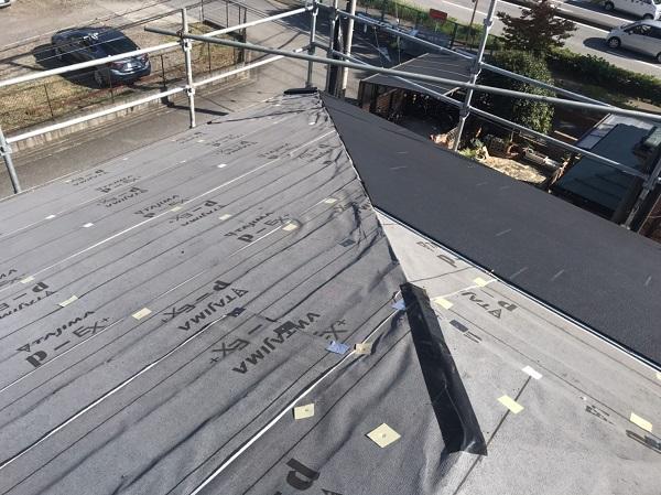 千葉県市原市 屋根カバー工法 ガルバリウム鋼板 (4)