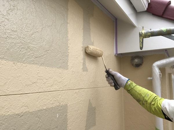 千葉県市原市 外壁塗装 窯業系サイディングボード 日本ペイント(ニッペ)パーフェクトサーフ・パーフェクトトップ (1)