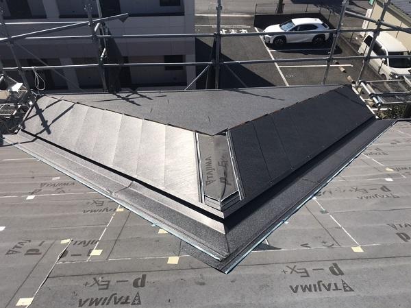 千葉県市原市 屋根カバー工法 ガルバリウム鋼板 (3)