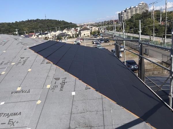 千葉県市原市 屋根カバー工法 ガルバリウム鋼板 (6)