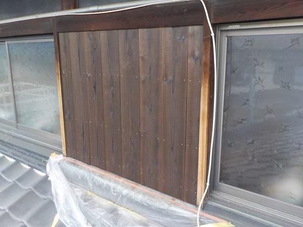 千葉県千葉市 焼杉板(焼板)張り替え工事 当社の事業内容 (1)