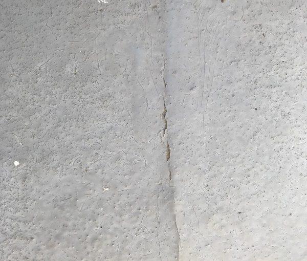千葉県市原市 屋根塗装・防水工事 現場調査 モニエル瓦 釘の浮き ベランダのひび割れ (2)