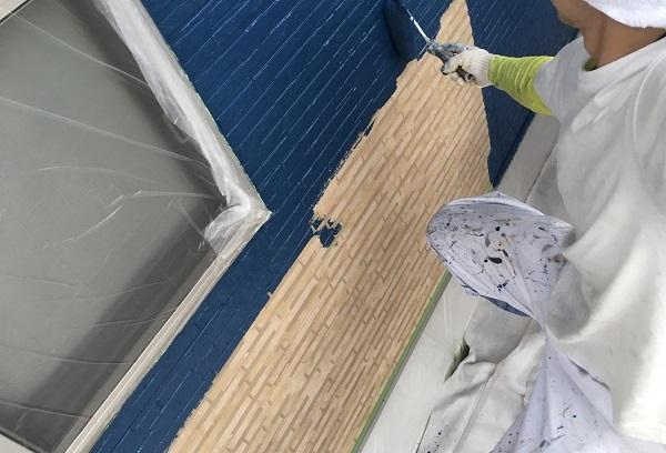 千葉県市原市 外壁塗装・屋根塗装 ローラー工法と吹き付け工法の違い 日本ペイントラジカル制御型塗料 パーフェクトトップ (3)