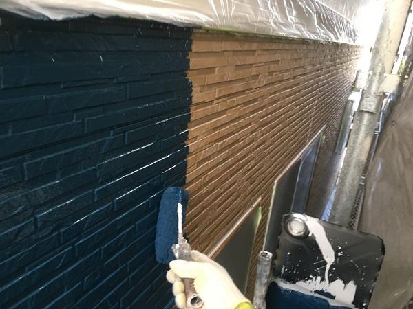 千葉県市原市 外壁塗装・屋根塗装 ローラー工法と吹き付け工法の違い 日本ペイントラジカル制御型塗料 パーフェクトトップ (1)