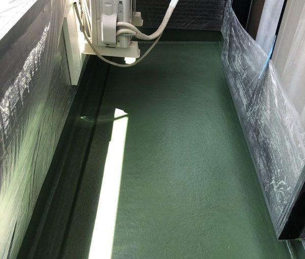 千葉県船橋市 ベランダ防水工事 FRP防水 2プライ工法 (3)