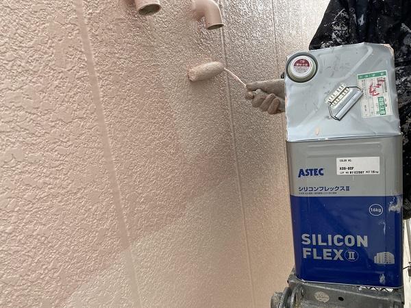 千葉県銚子市 外壁塗装 アステックペイント シリコンフレックス 4度塗り仕上げ (4)