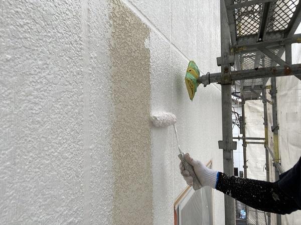 千葉県銚子市 外壁塗装 アステックペイント シリコンフレックス 4度塗り仕上げ (2)
