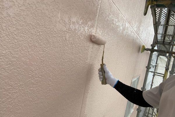 千葉県銚子市 外壁塗装 アステックペイント シリコンフレックス 4度塗り仕上げ (5)